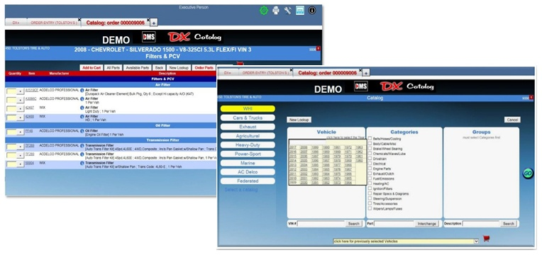 DMS-Systems-DX-Qwik-Catalog-Software-Screenshots